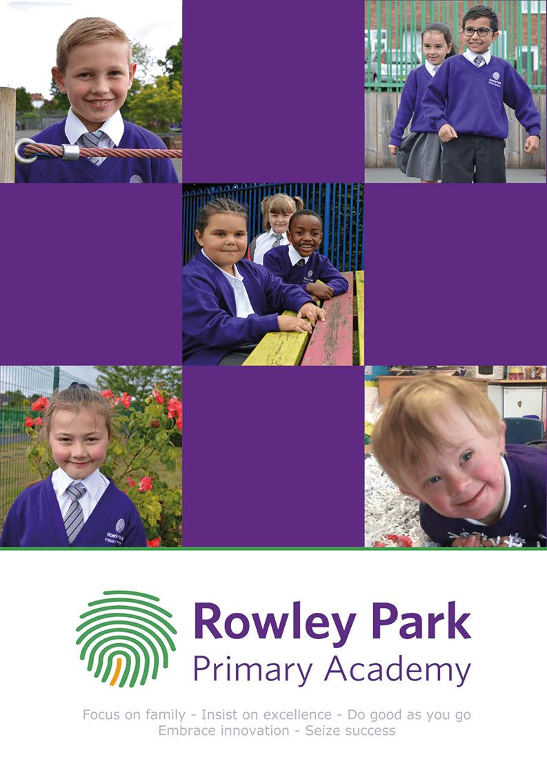 Rowley Park Academy - Stafford Primary School Prospectus