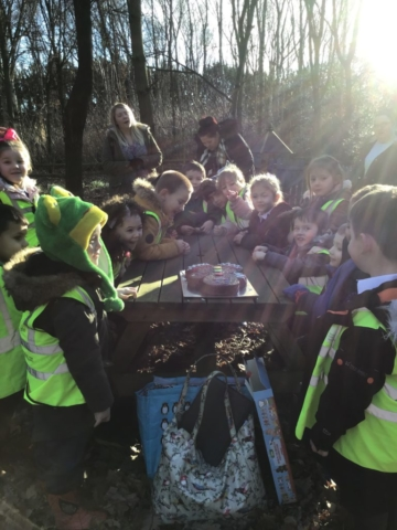 photo of Reception Class visit to the Fairy Forest, Lichfield