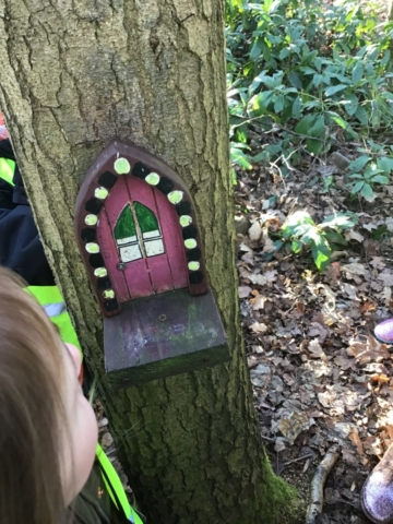 Fairy House photo from the Lichfield Reception Class Trip