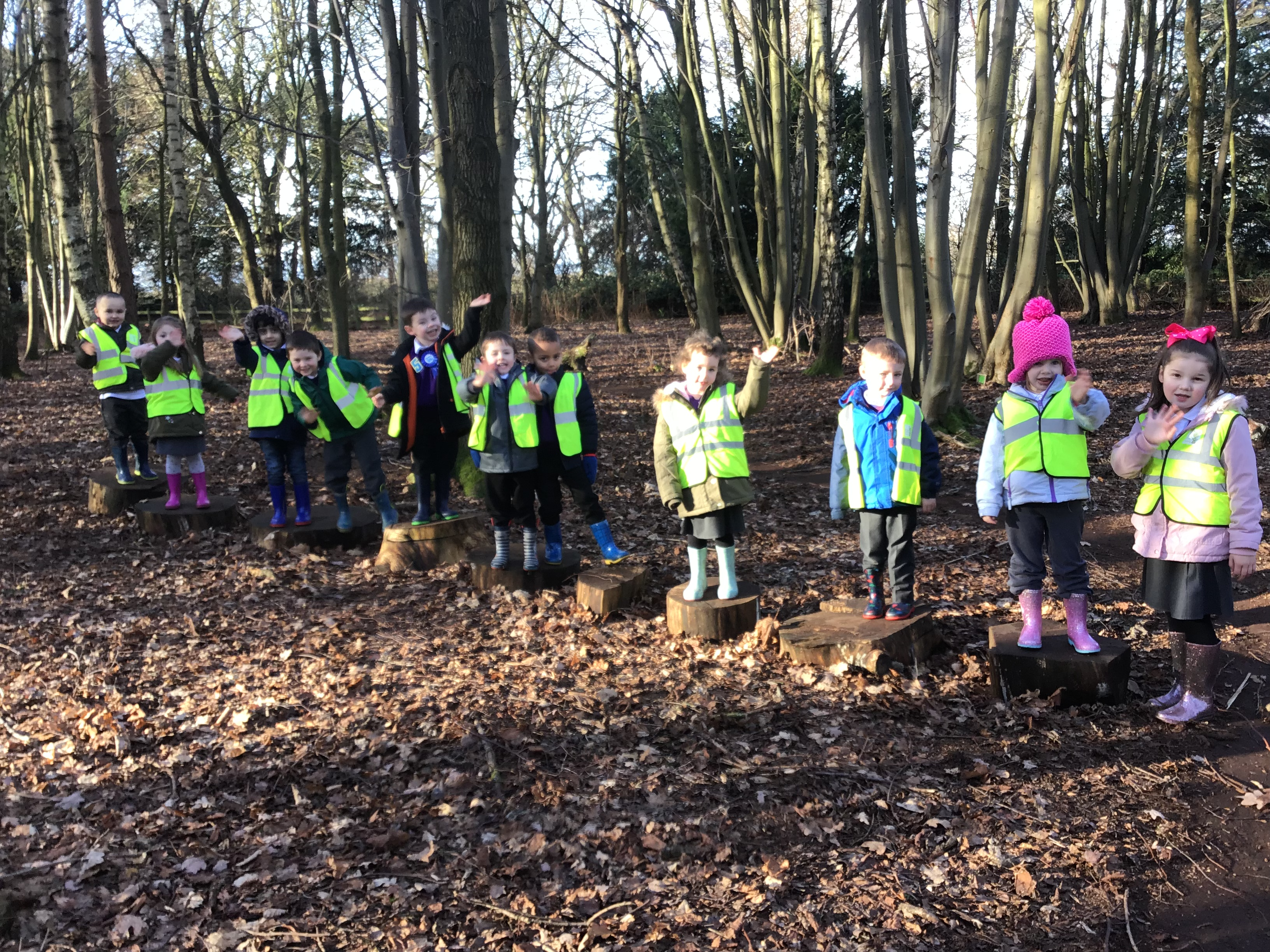 Reception Class visit to Beacon Park, Lichfield
